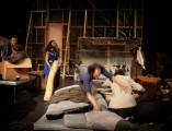 Le Théâtre sauvage, ms Guillaume Béguin. Photo de répétitions © Julie Masson